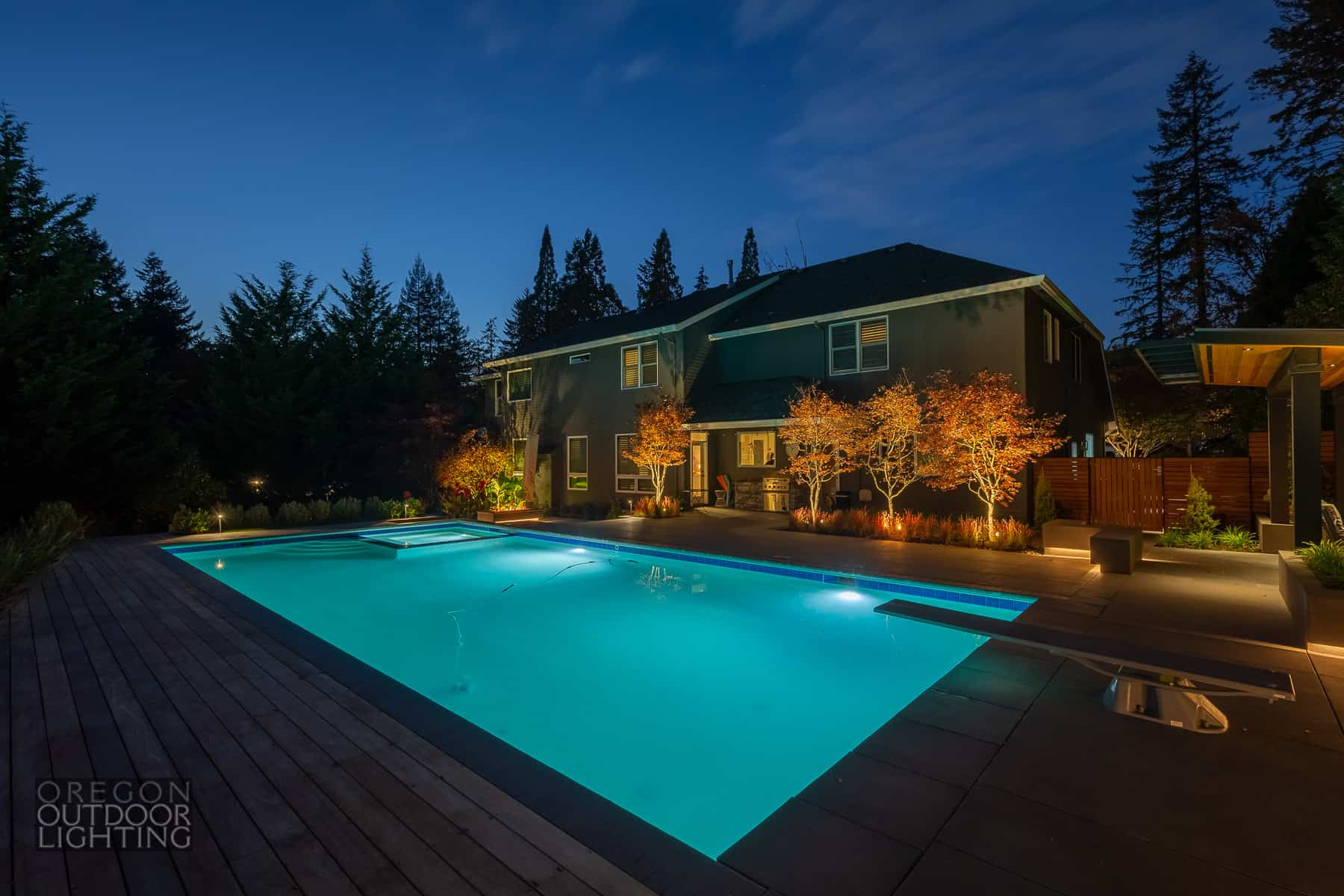 Image of: 4 Practical Outdoor Lighting Tips With Examples Oregon Outdoor Lighting